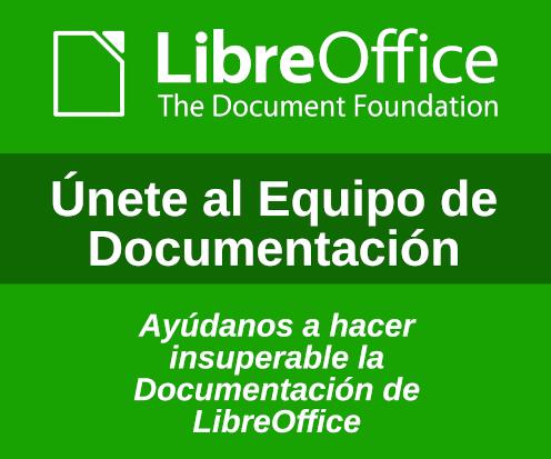 Únete al Equipo de Documentación
