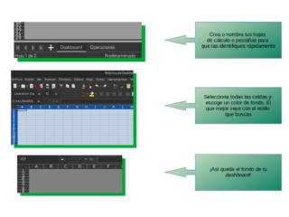 Buenas prácticas para crear un dashboard en Calc — 2 Preparando el ambiente