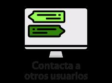 Contacta a otros usuarios