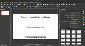 Abrir una presentación en blanco, de plantilla o creada mediante las propiedades de diapositiva nueva